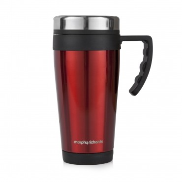 Morphy Equip 420ml Travel Mug Red