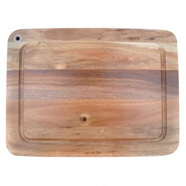 NATURAL LIFE Acacia Wood Cutting Board
