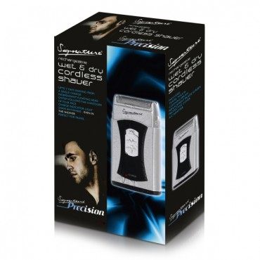 Signature - Cordless Mini Wet and Dry Shaver