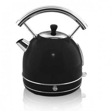 1.7 Litre Retro Dome Kettle - Black