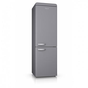 SWAN Retro Fridge Freezer - Grey