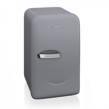 Swan Retro Mini Fridge Grey