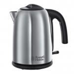 1.7 litre hampshire brushed kettle