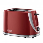 Mode red 2 slice toaster