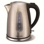 1.5 litre accents brushed jug kettle