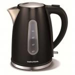 1.5 litre accents black jug kettle