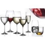 Aliseo Set of 2 Red Tasting Glasses