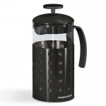 Accents 8 cup cafetiere black