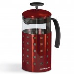 Accents 8 cup cafetiere red