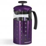 Morphy Richards Accents 8 cup cafetiere plum
