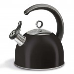 Accents 2.5l whistling kettle black