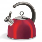 Accents 2.5l whistling kettle red