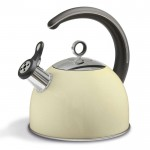 Accents 2.5l whistling kettle cream