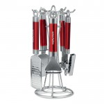 Morphy accents 4pce gadget set red