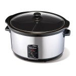 Morphy Richards - 6 litre partitioned slow cooker