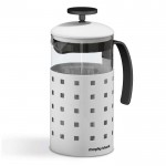 Accents 8 cup cafetiere white
