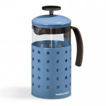 Morphy 8 cup cafetiere corn/f blue