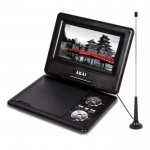7 inch portable dvd player with dvb-t     receiver