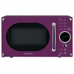 20 litre touch control microwave - purple