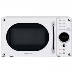 20 litre touch control microwave - white