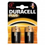 2 x c size batteries