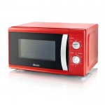 800w red solo microwave