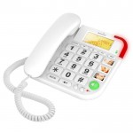 Big button telephone with speakerphone