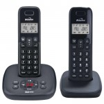 Twin dect phone with answer machine