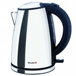1 litre polished s/s compact jug kettle