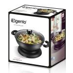 Elgento - 30cm Electric Wok