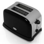 Elgento - Black 2 Slice Toaster