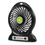 ITEK Rechargeable 4 Inch Desk fan with Built In Powerbank