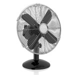 Swan Retro 12 Inch Desk Fan - Black