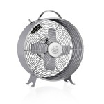 Swan Retro 8 Inch Clock Fan - Grey