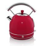 1.7 Litre Retro Dome Kettle - Red