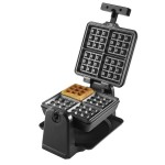 TOWER Stainless Steel Rotary Waffle Maker