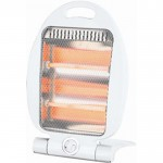 800w folding quartz heater
