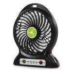 ITEK Rechargeable 4 Inch Desk fan with Built In Powerbank